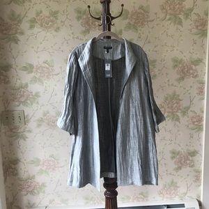 Italian Weave Linen Jacket